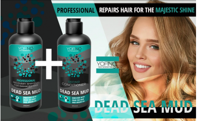Yofing Recovery Shampoo For Damaged Hair &  Conditioner For Damaged Hair