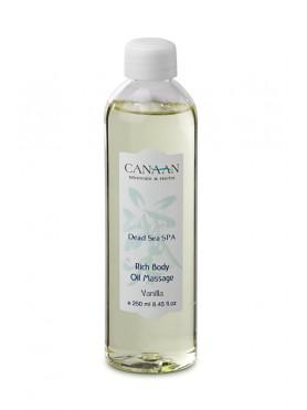 Rich Body Oil Massage - Gardenia vanilla