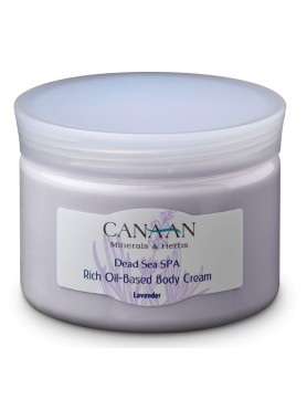 Rich Oil-Based Body Cream Lavander