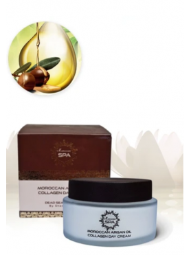 Moroccan aragan oil collagen day cream