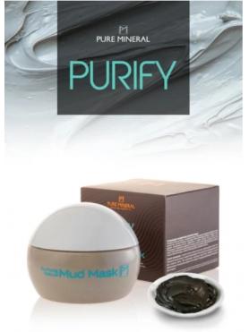 Purifying natural mud mask