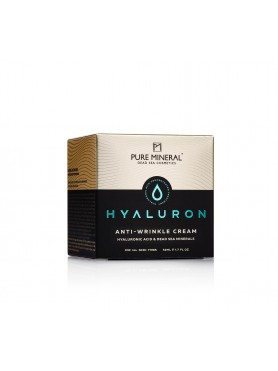 Anti-wrinkle cream with hyaluronic acid