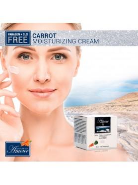 Carrot moisturizing cream