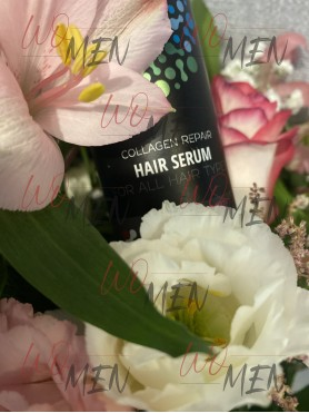Hair serum with collagen