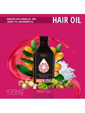 Enriched Hair oil with argan